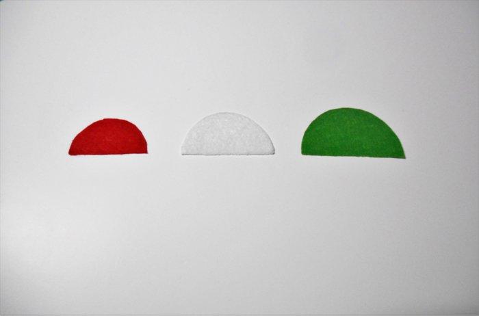 Broche Pastèque pour les invités #CocoCrea6-Découpage