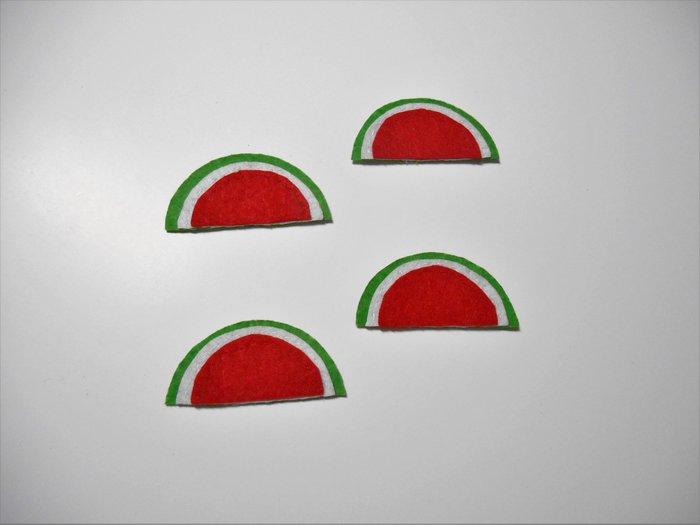 Broche Pastèque pour les invités #CocoCrea6-Couture
