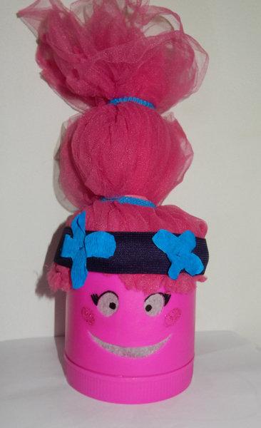 DIY Retour en enfance : Veilleuse Princesse Poppy-coiffure
