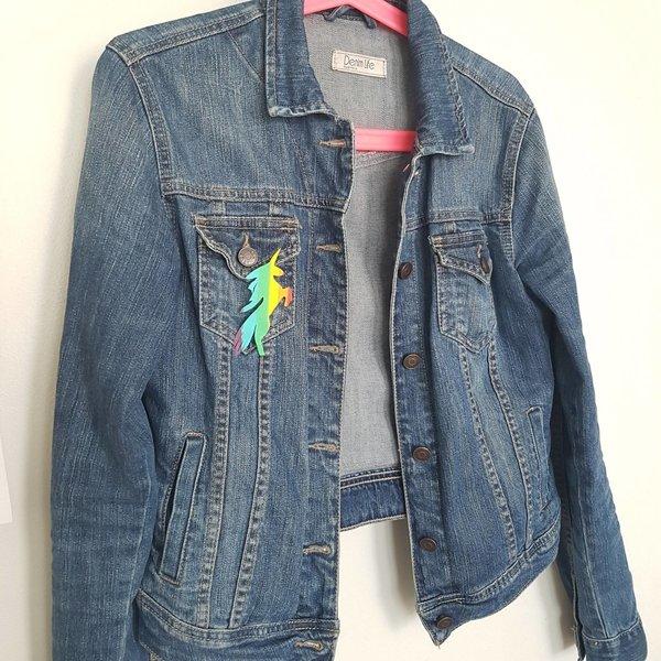 DIY : Recycler nos pailles en broche licorne rainbow-On se la pète ;)