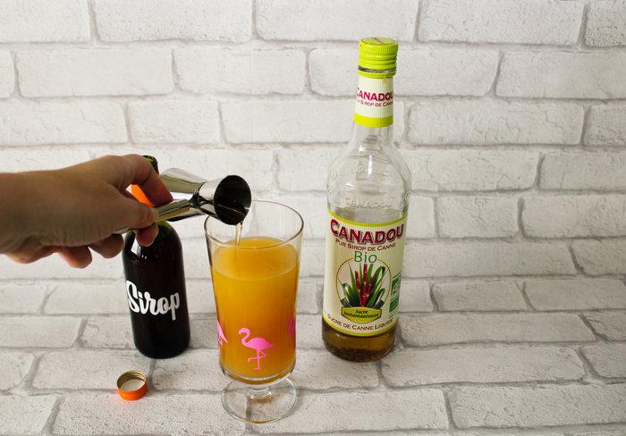 Cocktail Maitai Tahiti #CocoCrea11 -Le mélange