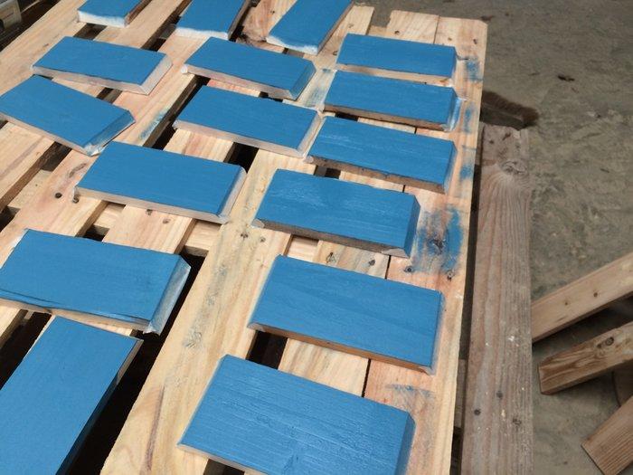 Des étagères hexagonales-Peinture