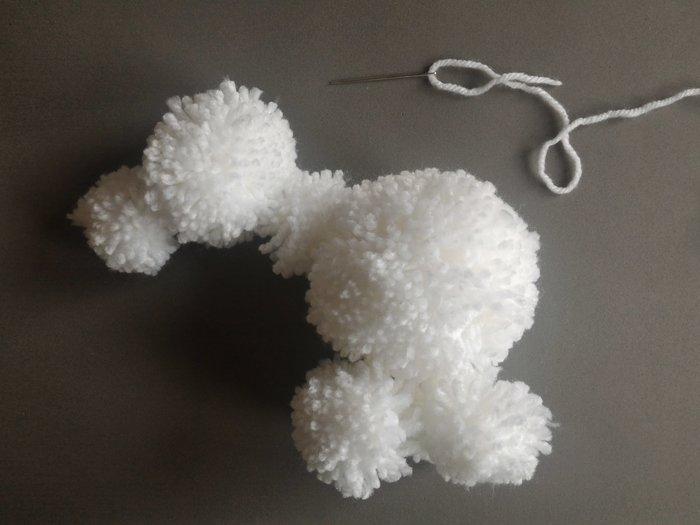 Bébé licorne arc en ciel -Mettre en forme la licorne