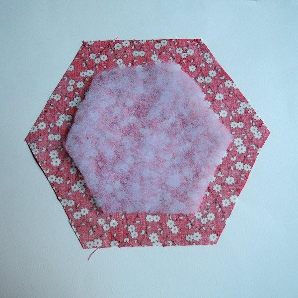 Un cadre en patchwork: DIY -L'intérieur du cadre