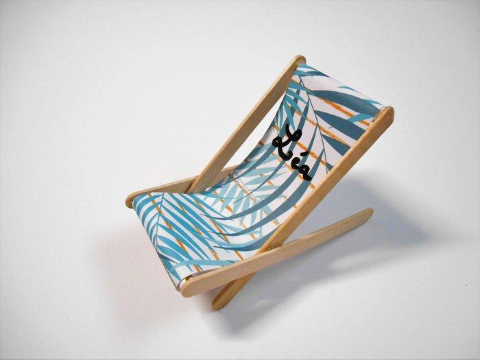 Marque-place Chaise Longue #CocoCrea14-Assemblage