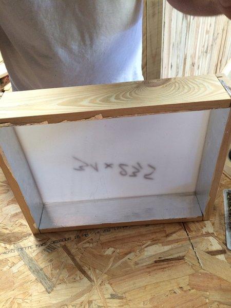 Fabriquez votre propre Lightbox !-Assemblage du cadre