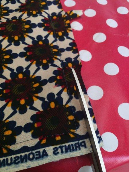 Porte-couverts/set de table avec pochette amovible-Etape 8