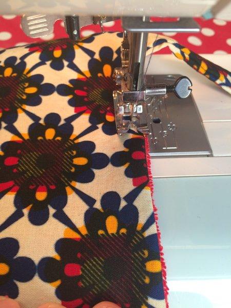 Porte-couverts/set de table avec pochette amovible-Etape 9