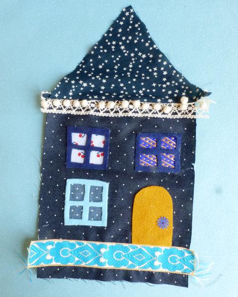 Nuit d'été ~ une petite maison en tissu-Customisation
