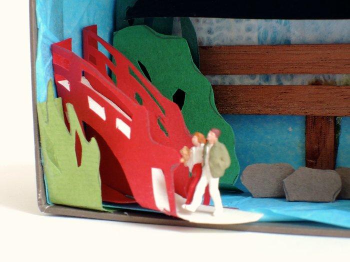 Diorama jardin japonais: DIY  -Le pont japonais