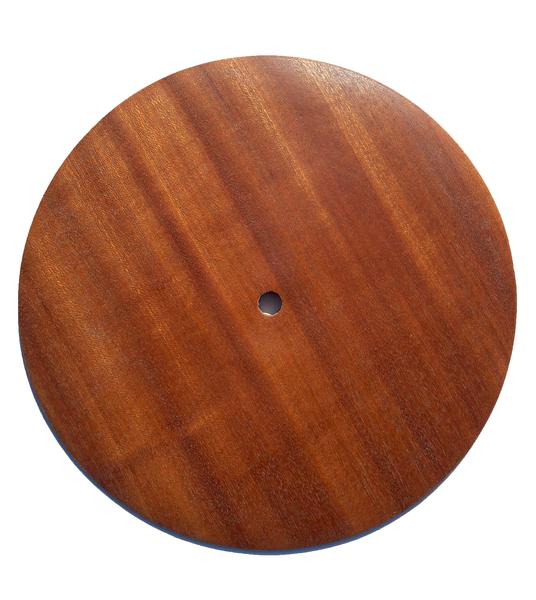 Décoration design en bois-Mise en forme d'un disque