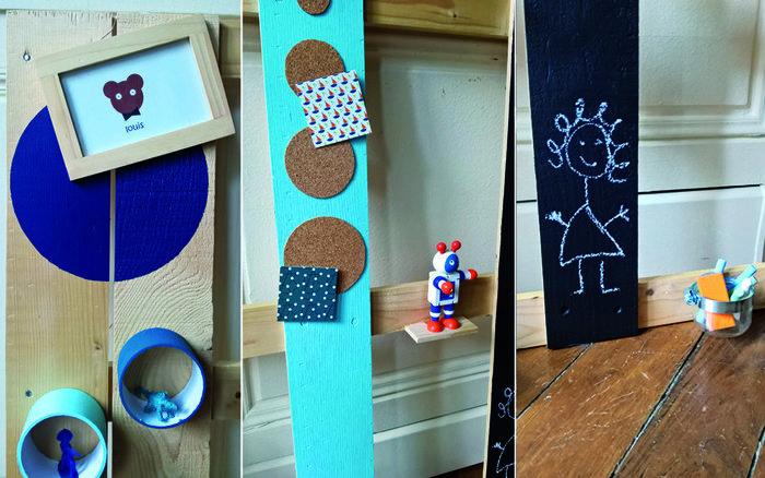 L'organiseur mural en palette-Faisons le tour plus en détails...