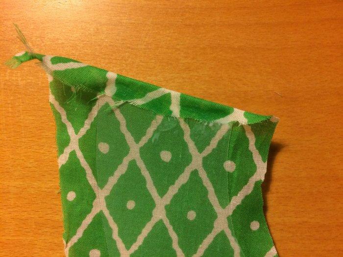 Abat-jour Ananananas-Collage du tissu et de la feuille de polyphane - Feuillage