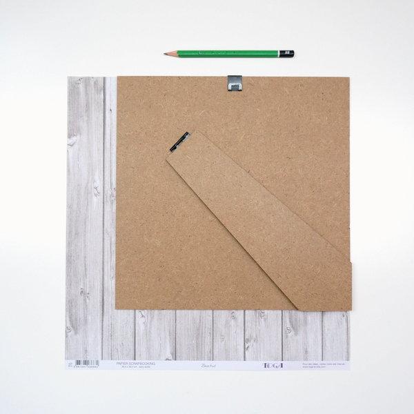 Un cadre vitrine à plusieurs plans-Le scrapbooking