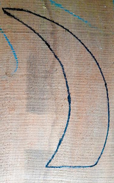 Décoration design en bois-Création du support