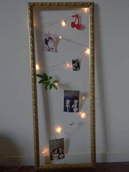 DIY : un cadre d'inspiration lumineux-Etape 2 : Laisser libre cours à son imagination ;-)