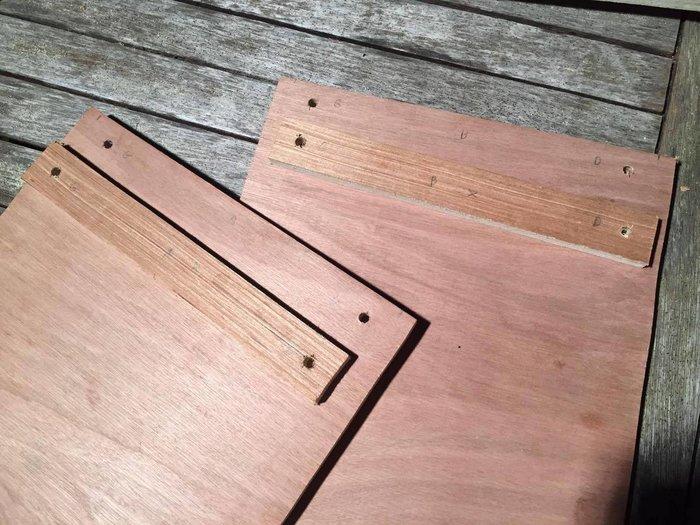 Il était une fois de vieilles planches en bois...-Première étape