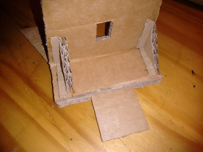 Ventilateur de table en carton-Collons !