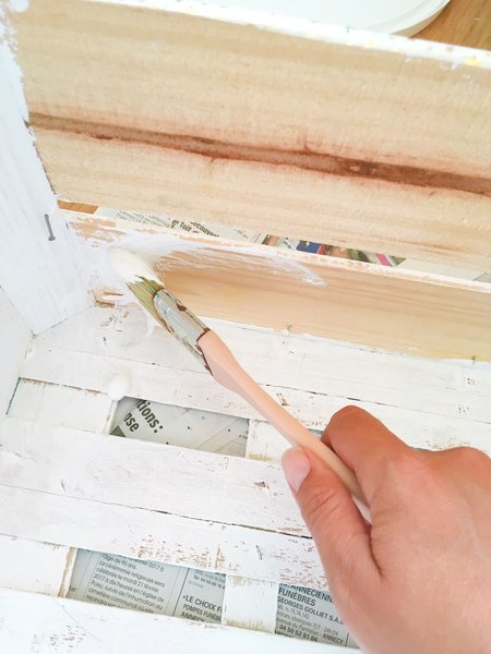Malle à trésors-Peindre le bois