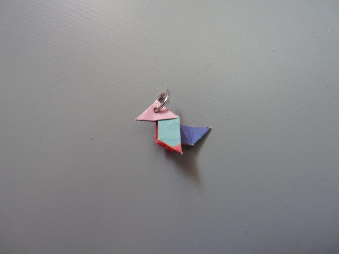 DIY: boucles d'oreilles origami et perles Miyuki-L'assemblage