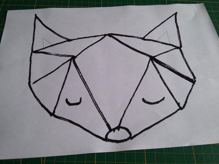 Mon petit carnet en plastique dingue -Couverture du carnet... renard