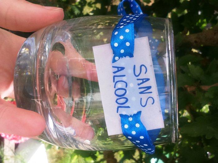 Marque-verre en plastique dingue -et voilà !