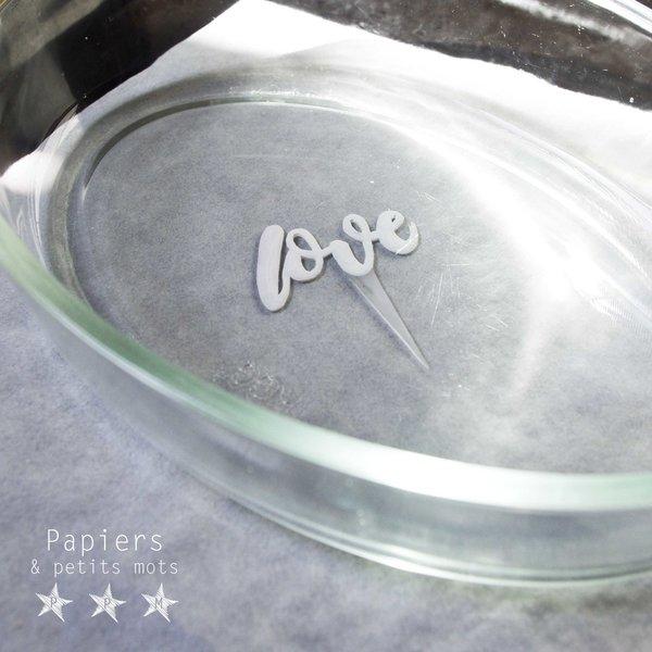 Cake Topper en plastique dingue-Admirer la transformation