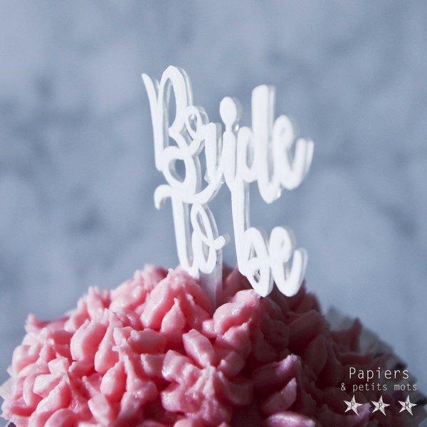 Cake Topper en plastique dingue-Décorer les cupcakes