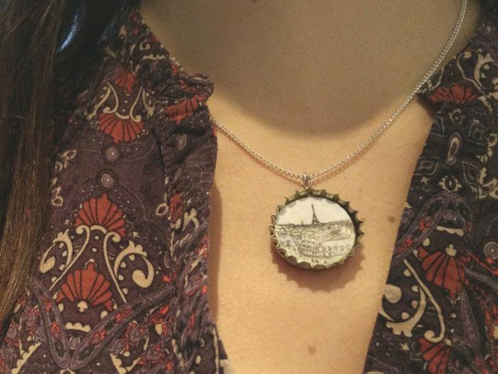 Bijoux en plastique dingue avec des capsules recyclées-Composer votre bijoux