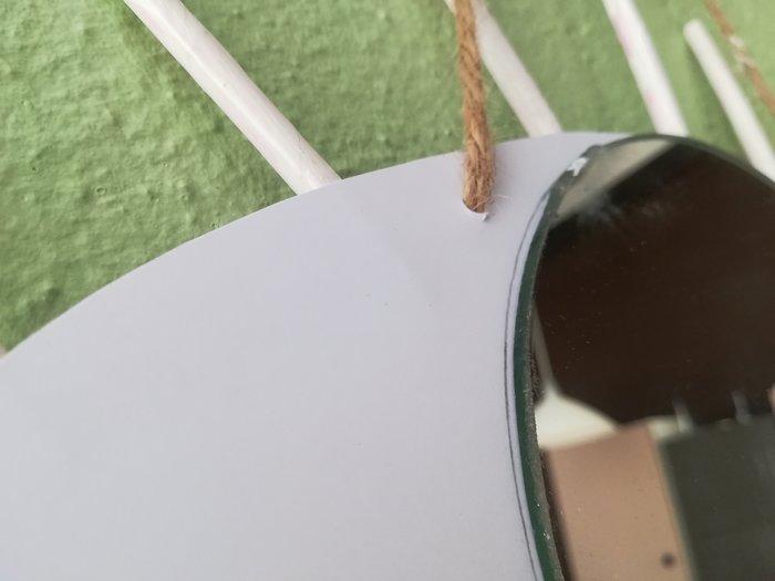 DIY // Miroir oeil-Miroir et suspension