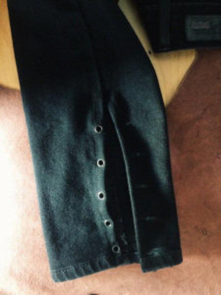 DIY jeans à lacets-C'est parti ...