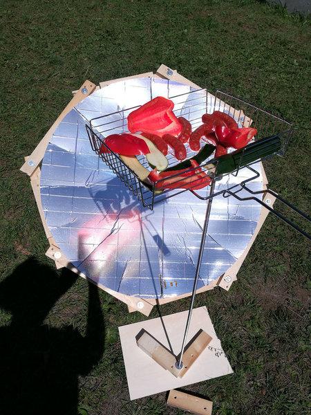 Barbecue solaire-Utilisation