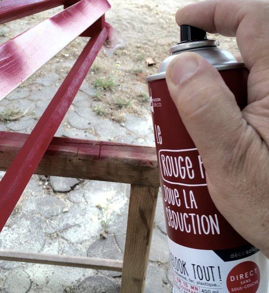 Une lampe pour préparer son voyage-mise en peinture