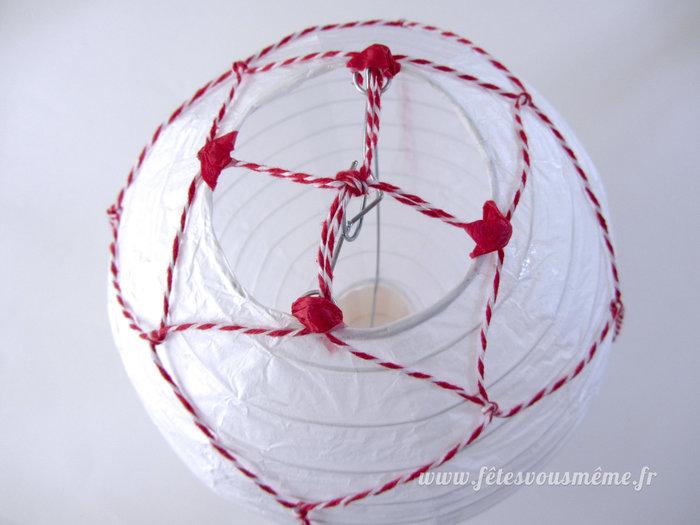 Montgolfière de papier-Réalisez le ballon