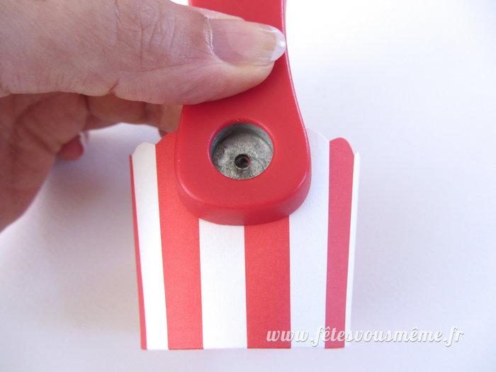 Montgolfière de papier-Réalisez la nacelle