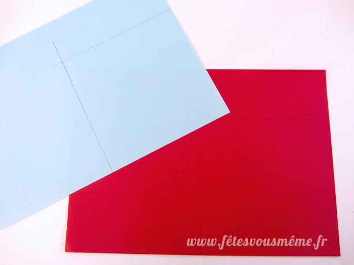Moulins à vent de papier-Les carrés de papier pour les moulins à vent