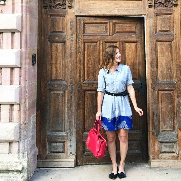 La robe chemise de la rentrée-Etape 6 : les passants