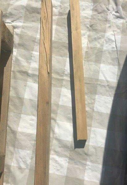 Un lampadaire tout en bois  .... -Préparation :