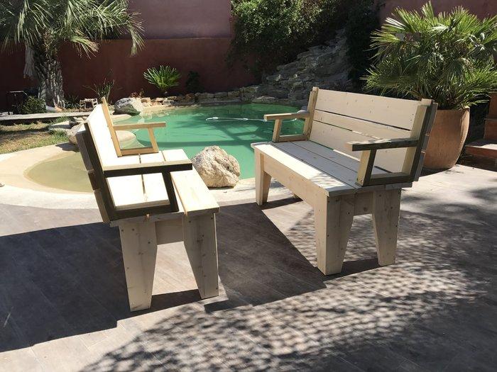 BANCS convertibles en TABLE DE PIQUE-NIQUE -😎