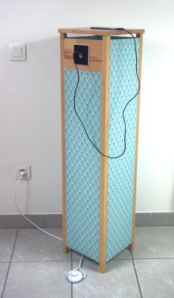 Luminaire design et pratique avec son chargeur USB intégré-C'est la fin !