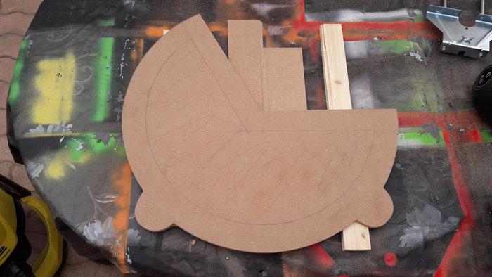 Rocking chair Enfant-1 - La structure