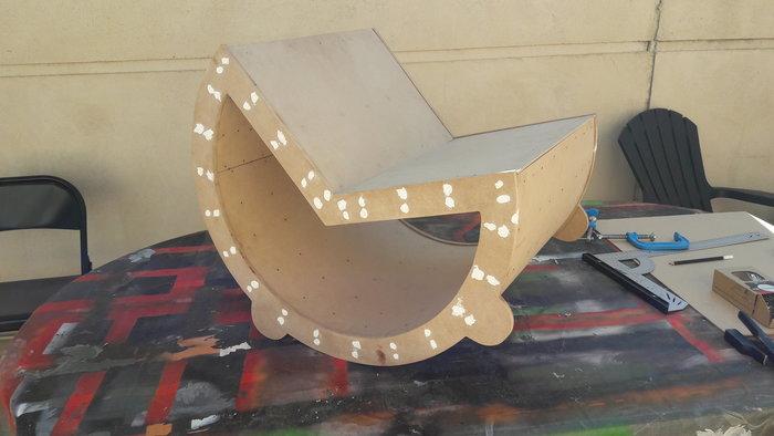 Rocking chair Enfant-3 - Habillage