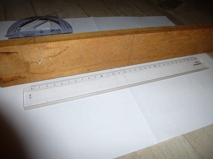 Beezbrille applique murale-Création du cadre de la lampe (les 6 côtés)