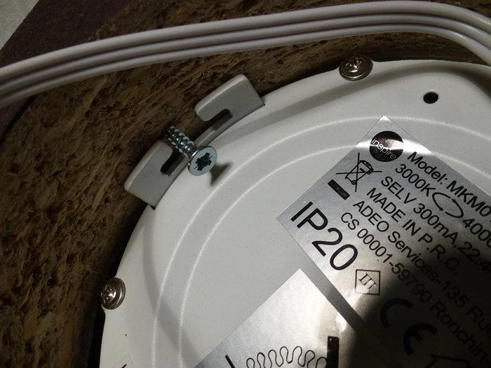 Beezbrille applique murale-Encastrer le spot LED extra flat