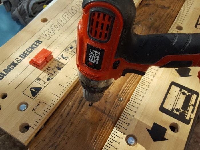 DIY : suspension en bois flotté et bocaux-Préparation de la planche de bois flotté