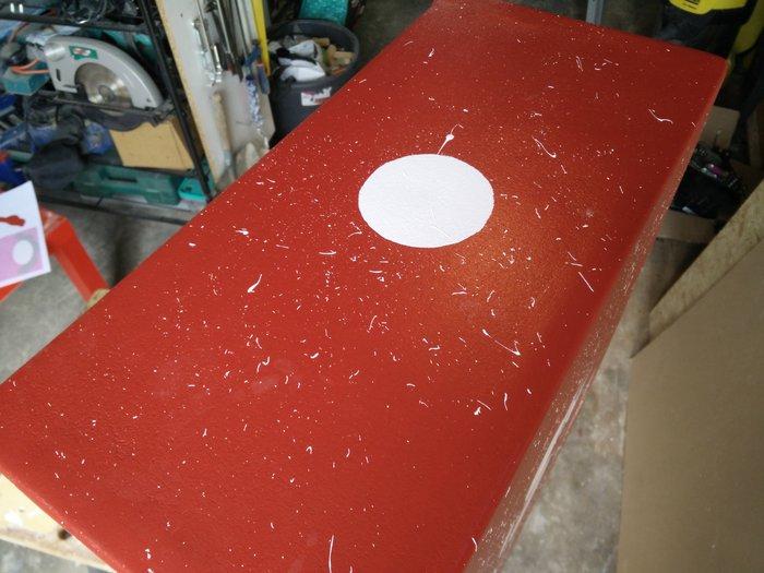 Fabriquer une borne d'arcade avec des matériaux recyclés-La peinture