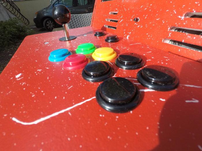 Fabriquer une borne d'arcade avec des matériaux recyclés-Branchement du joystick
