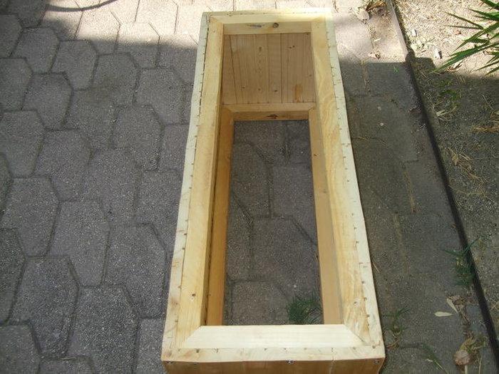 Table basse en bois multifonction coffre et banquette-ETAPE 2