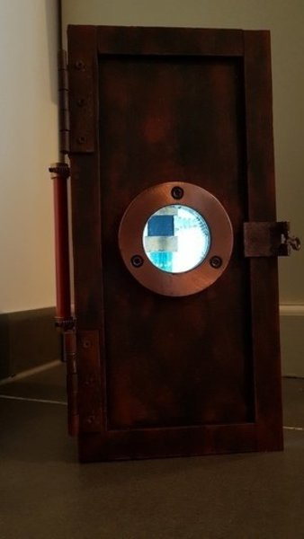 Disjoncteur Frankenstein-Boite lumineuse, rendu final