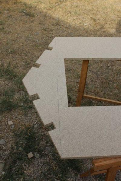 Maisonnette cabane en bois pour les enfants-La découpe - 2e partie